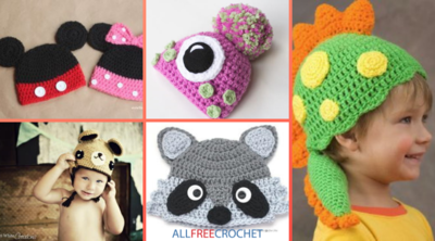 35 Crochet Animal Hat Patterns