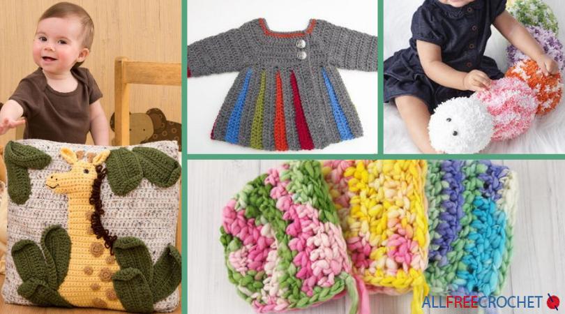 991528e8170c 30+ Free Crochet Baby Patterns (+ Bonus Free eBook)