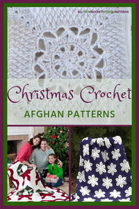 41 Christmas Crochet Afghan Patterns