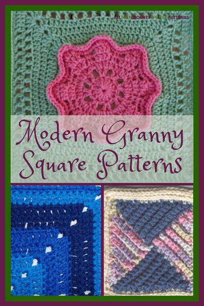 Modern Granny Square Patterns