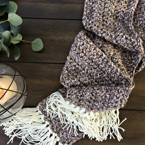 Super Simple Super Soft Super Scarf