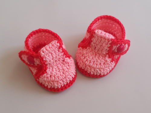Adorable Cozy Crochet Baby Booties/Shoes