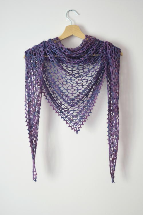 Nightfall Shawl