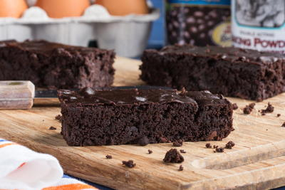 Fool em Black Bean Brownies
