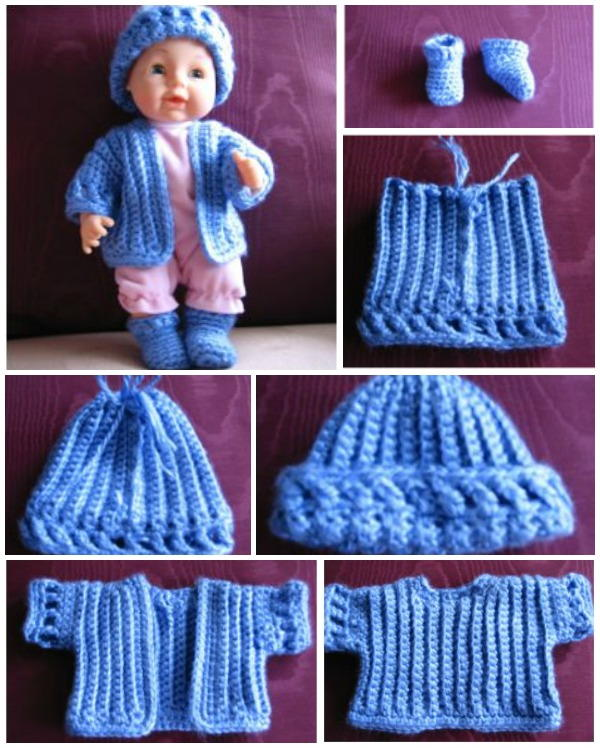 Crochet Doll Set