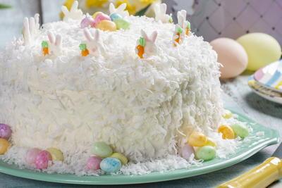 Ultimate Coconut Cake