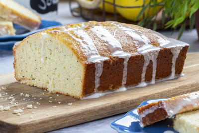 Light  Bright Lemon Poppy Loaf