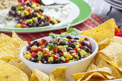 Save the Day Black Bean Salsa