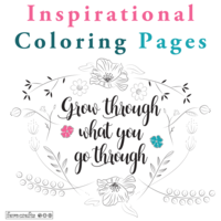 38 Inspirational Coloring Pages