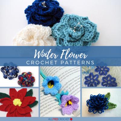 8a4bb72cd7849 Eternal Blooms: 20+ Winter Flower Crochet Patterns   AllFreeCrochet.com