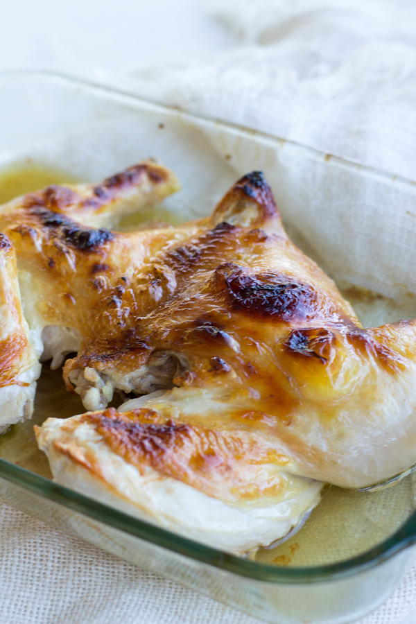 Broiled Butterflied Chicken