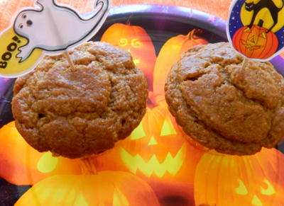 Low Fat Pumpkin Spice Muffins/Cupcakes