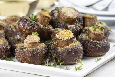 Thyme Roasted Mushrooms