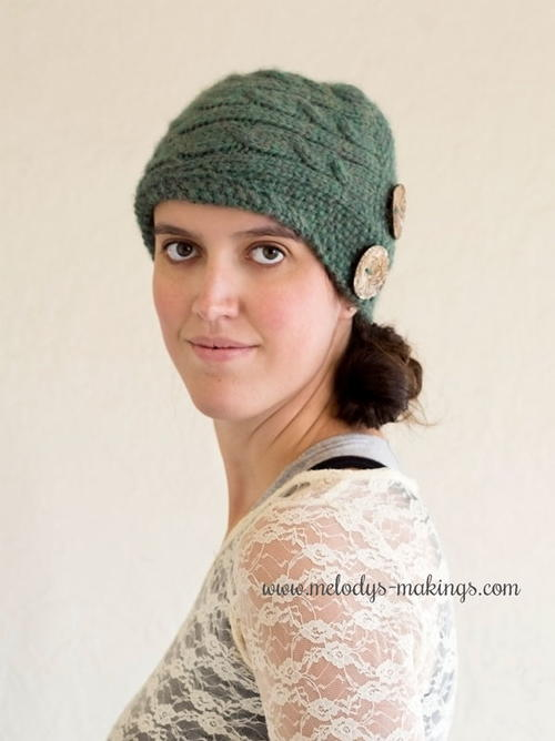 Cadence Cabled Cloche