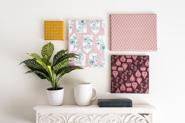 How to Frame Fabric