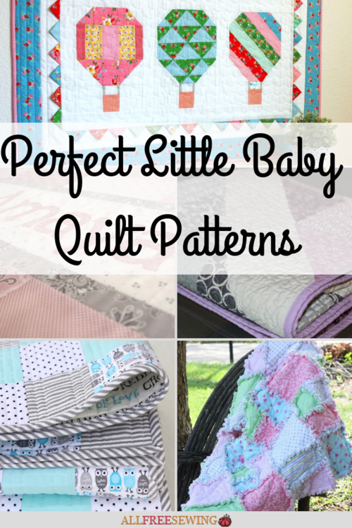 18 Perfect Little Baby Quilt Patterns