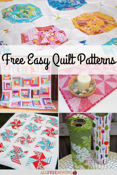 21 Free Easy Quilt Patterns