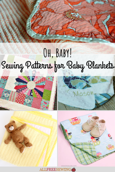 40 Sewing Patterns for Baby Blankets