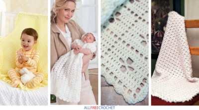 17 Crochet Baby Blankets for Christenings