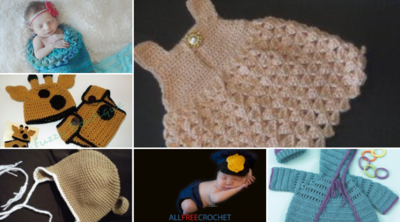 25 Free Baby Crochet Patterns