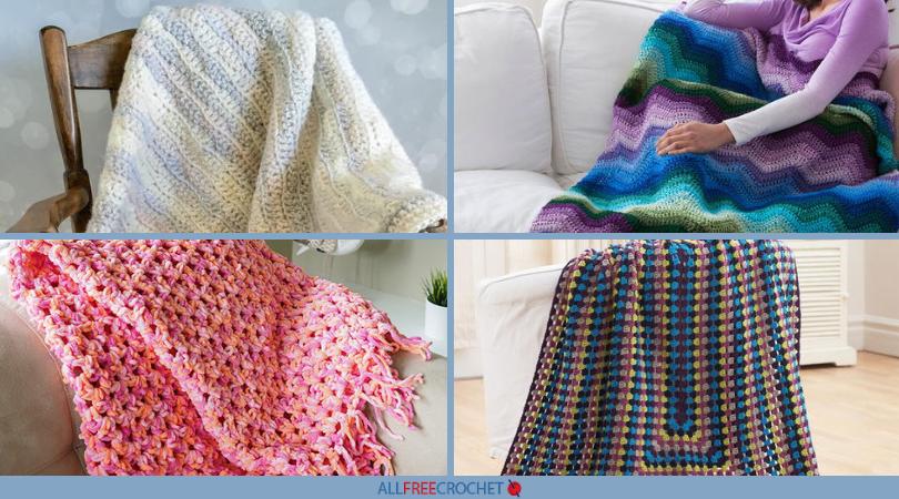 49 Quick and Easy Crochet Afghans | AllFreeCrochet com