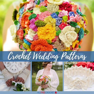15 Crochet Wedding Patterns for the Bride