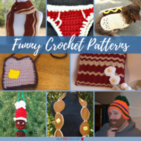 Caption This! + 15 Funny Crochet Patterns