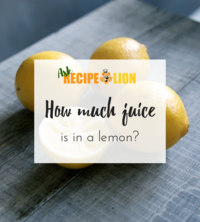 How Much Juice is in a Lemon? Get Easy Conversions for Your Recipe!