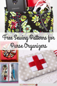 15+ Free Sewing Patterns for Purse Organizers
