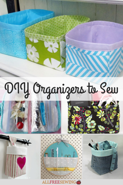 130 DIY Organizers to Sew