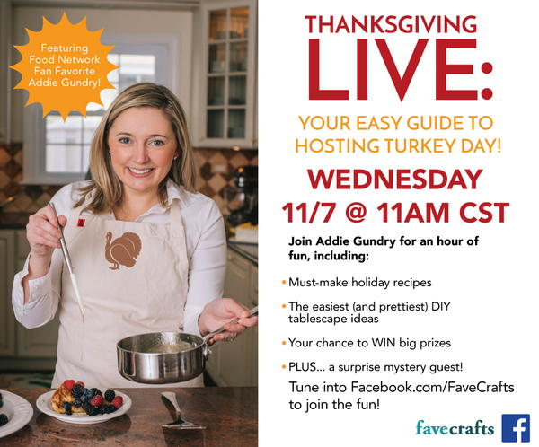 Thanksgiving Live with Addie Gundry