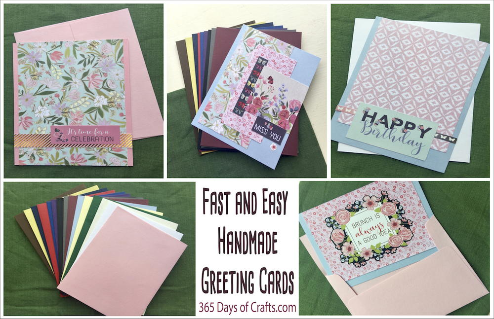 easy handmade greeting cards  favecrafts