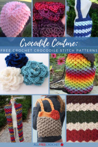 Crocodile Couture: 24 Free Crochet Crocodile Stitch Patterns