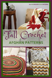 27 Crochet Afghan Patterns for Fall