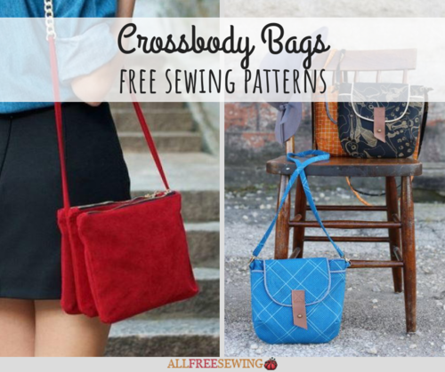 graphic regarding Handbag Patterns Free Printable named 11 Totally free Crossbody Bag Sewing Layouts