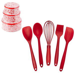 Silicone Kitchen Utensils & Cookie Tins Set Giveaway