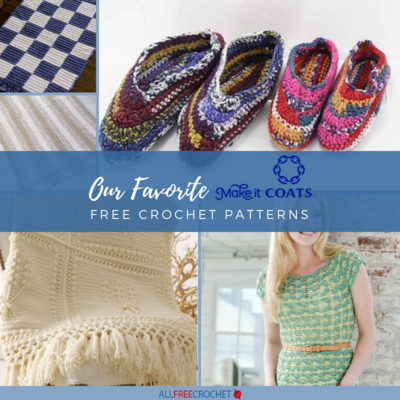 Our 8 Favorite Coats and Clark Free Crochet Patterns