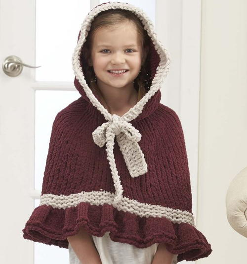 Noel Knit Cape Pattern