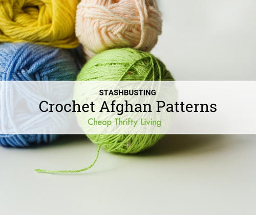 Stashbusting Crochet Afghan Patterns