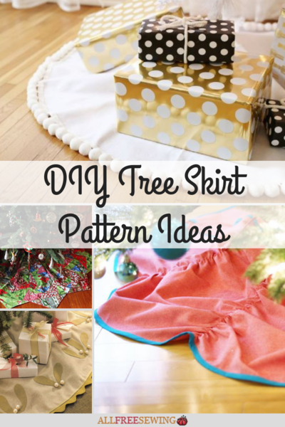 13 DIY Tree Skirt Pattern Ideas