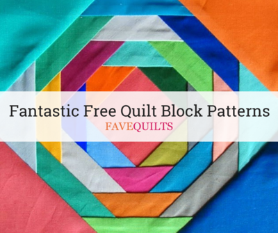 38 Fantastic Free Quilt Block Patterns | FaveQuilts com