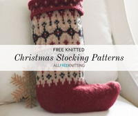18 Free Knitted Christmas Stocking Patterns