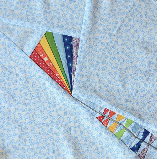 Rainbow Kite Paper Piecing Pattern