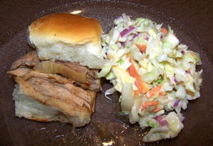 Game Day Sliders and Slaw