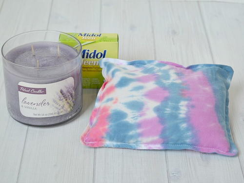 Tie Dyed Rice Heat Pack and Care Pack