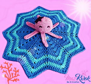 Oceanic Lovey Blanket