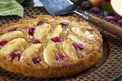 Holiday Upside-Down Cake