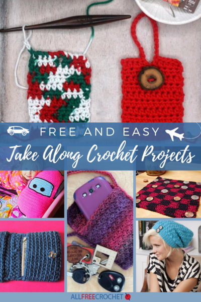 15 Free and Easy Take Along Crochet Projects
