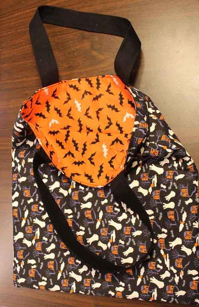 Fabric Trick or Treat Bag