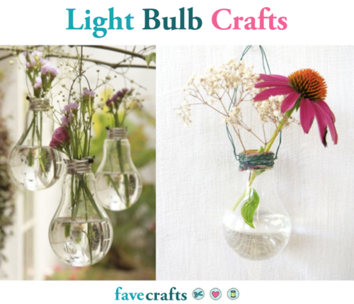 12 Light Bulb Crafts